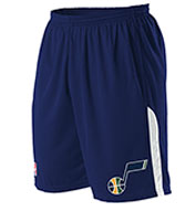 Custom Team NBA Utah Jazz Youth Shorts