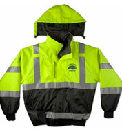 ANSI/ISEA Municipality Jacket with Hideaway Hood