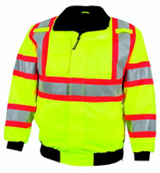 ANSI/ISEA Federal Highway Jacket with Hidden Hood