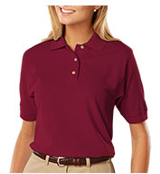 Custom Ladies Egyptian Ringspun Cotton Pique Polos