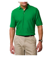 Mens Egyptian Ringspun Cotton Pique Polos