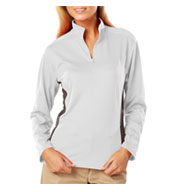 Custom Ladies Moisture Wicking Pullover