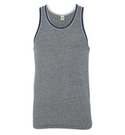 Custom Alternative Apparel Eco Jersey Double Ringer Tank Mens