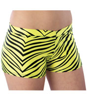Custom Youth Animal Print Hot Short