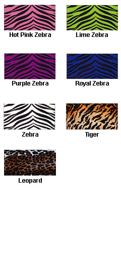 Youth Animal Print Sports Bra - All Colors