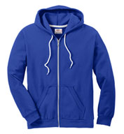 Anvil Mens Fashion Full-Zip Hooded Sweatshirt