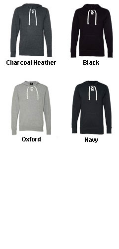 Sport Lace Jersey Hooded Pullover by J. America - All Colors
