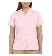 Custom Harriton Ladies Bahama Cord Camp Shirt