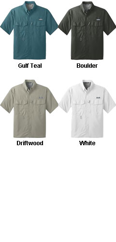 Eddie Bauer® Short Sleeve Performance Fishing Shirt - All Colors
