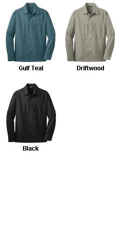 Eddie Bauer� Long Sleeve Performance Travel Shirt - All Colors