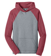 District Young Mens 50/50 Raglan Hoodie