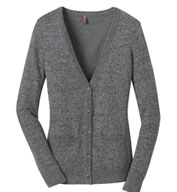Custom District Made™ Ladies Cardigan Sweater