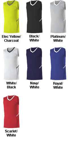Alleson Adult Bounce Basketball Jersey - All Colors