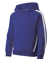 Sport-Tek® - Sleeve Stripe Pullover Hooded Sweatshirt