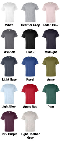 Alternative Mens Tear-Away Label T-Shirt - All Colors