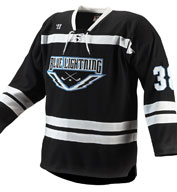 Custom Warrior Adult Turbo Hockey Game Jersey Mens