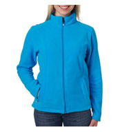 Custom Ladies Micro Fleece Full-Zip Jacket