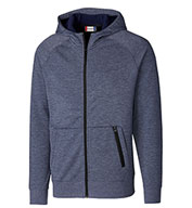 Custom Mens Fleece Full Zip Hoodie