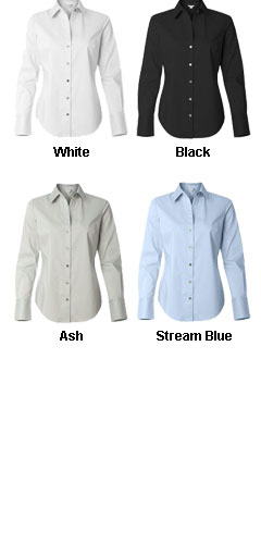 Calvin Klein Ladies Cotton Stretch Shirt - All Colors