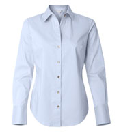 Custom Calvin Klein Ladies Cotton Stretch Shirt