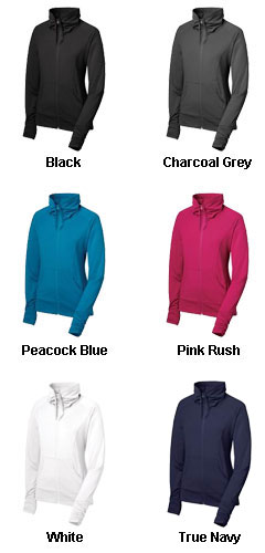 Ladies Sport-Tek® Full Zip Stretch Warm-Up - All Colors