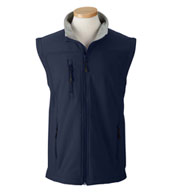 Custom Mens Wind and Water Resistant Soft Shell Vest