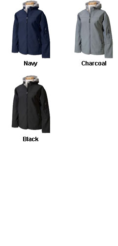 Womens Soft Shell Hooded Jacket - All Colors