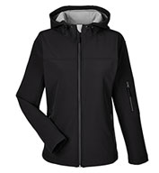 Womens Soft Shell Hooded Jacket