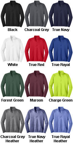 Sport-Wick� Stretch 1/2-Zip Pullover-Tall - All Colors