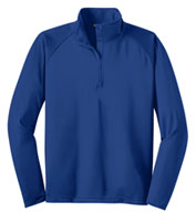 Sport-Wick® Stretch 1/2-Zip Pullover-Tall
