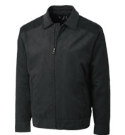 Mens Big and Tall Micro Suede Roosevelt Jacket