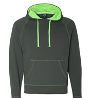 J. America Shadow Fleece Hooded Sweatshirt