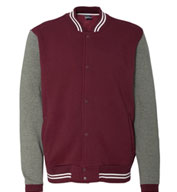 Mens Varsity Sweatshirt Jacket by MV Sport