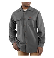 Carhartt Mens Chamois Long-Sleeve Shirt