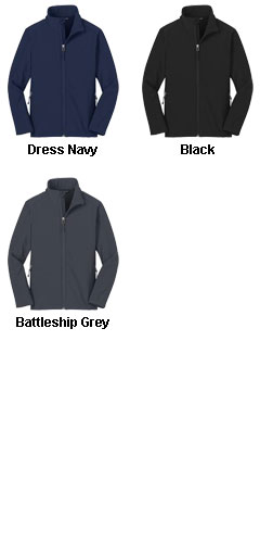 Mens Tall Core Soft Shell Jacket - All Colors