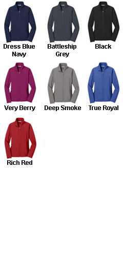 Ladies Core Soft Shell Jacket - All Colors
