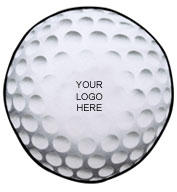 Custom Golf Ball Shaped Towel