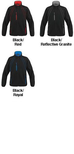 Womens Crew Softshell - All Colors
