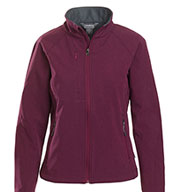 Custom Ladies Matrix Soft-Shell Bonded Jacket