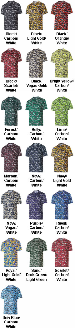 Mens Erupt 2.0 Moisture Wicking Shirt - All Colors
