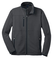 Mens Tall Pique Fleece Jacket