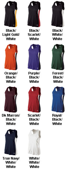 Holloway Vertical Ladies Singlet - All Colors