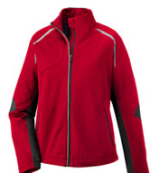 Custom Dynamo Ladies Hybrid Performance Soft Shell Jacket