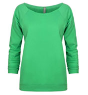 Custom Next Level Ladies French Terry Raglan