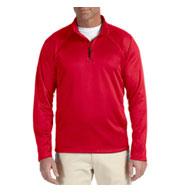 Mens Sretch Quarter-Zip Tech-Shell™