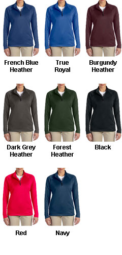 Ladies Stretch Quarter-Zip Tech-Shell� - All Colors