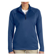 Custom Ladies Stretch Quarter-Zip Tech-Shell™