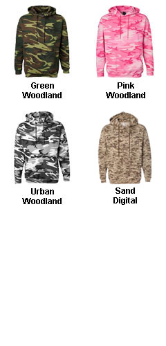 Code V Camouflage Hooded Sweatshirt - All Colors