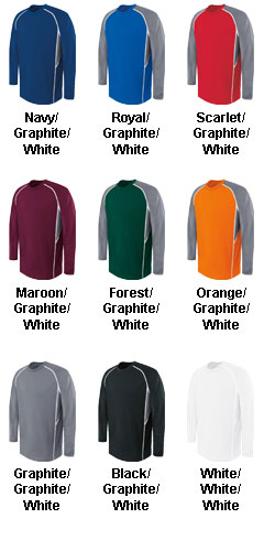 Youth Long Sleeve Evolution Top - All Colors