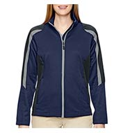 Ladies Strike Color-Blocked Fleece Jacket
